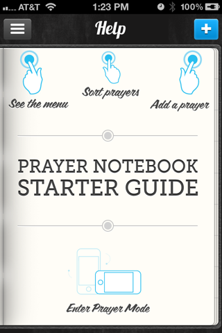 Prayer Notebook Starter Guide